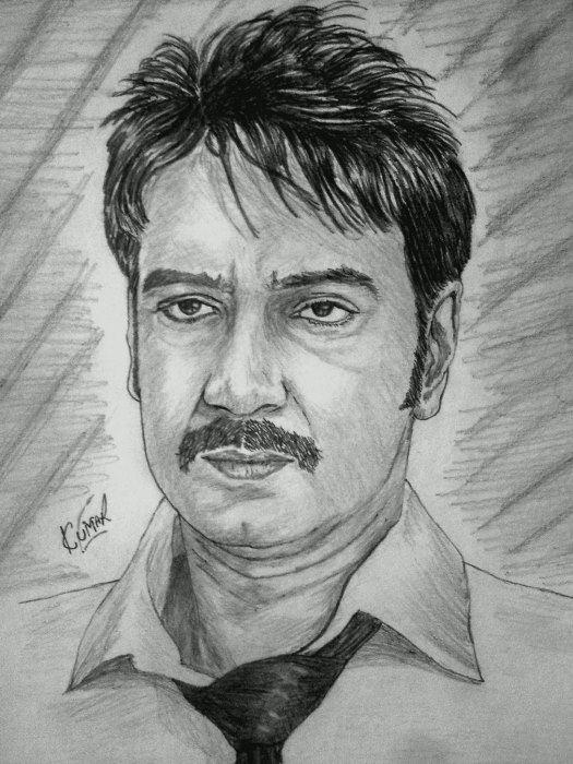 Ajay Devgan by Kumarr
